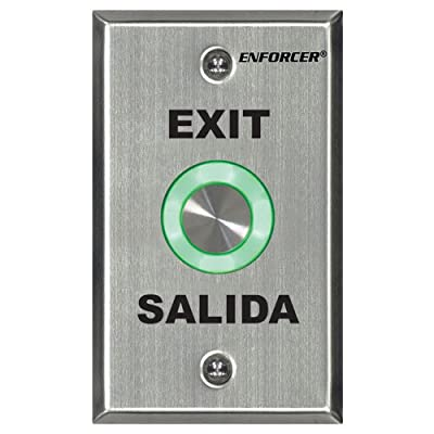 Seco-Larm Enforcer Piezoelectric Request-to-Exit Plate (SD-6276-SS1Q)