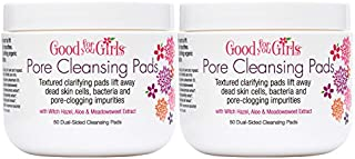 product image for 2 Pack Good For You Girls Purifying Toner Pads control oil and unclog pores with natural ingredients like witch hazel, aloe and green tea