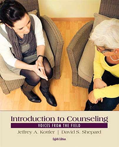 Introduction to Counseling: Voices from the Field from Brooks / Cole
