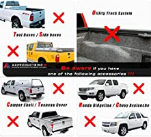 AA Products Model APX25 Aluminum Truck Rack with 8 Non-Drilling C-Clamps and 2 Sets Double Folding Kayak J-Racks with Ratchet Lashing Straps