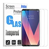 LG V30 Screen Protector, Arukas [3 PACK]3D Curved Ultra Clear 9H Hardness Case Friendly (Easy Installation) Premium Tempered Glass, Bubble-Free Anti-Scratch For LG V30 (clear)