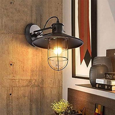Ventilador de Techo Luz Lámparas de Araña Lámparas de Pared Pared Soporte de Pared Ajustable Lámpara Linterna Pared Brazo Oscilante para E27 con Barra de la Habitación Balcón Calzada Calzada Pared Il:
