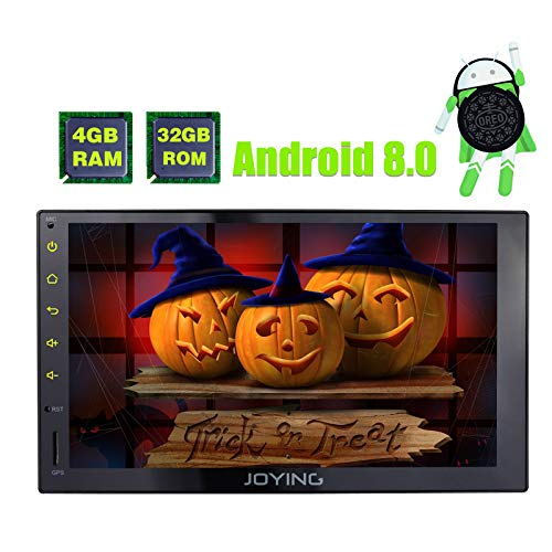 JOYING Car Stereo 4GB + 32GB Android 8 0 Octa Core 10 1 inch Double