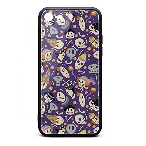 Halloween Skulls I-Phone 6/6S Case Ultra Slim Case Silica Gel Soft for I-Phone 6/6S -