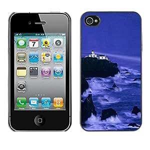 Smartphone Rígido Protección única Imagen Carcasa Funda Tapa Skin Case Para Apple Iphone 4 / 4S Nature Beautiful Forrest Green 143 / STRONG