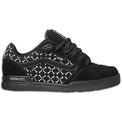 8d9ea631c4 Vans Rowley XLT Elite Broken Bones Black White Shoe XR4X63 (UK9 ...