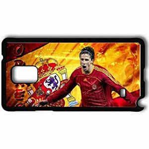 Personalized Samsung Note 4 Cell phone Case/Cover Skin Amazing Fernando Torres Football Black