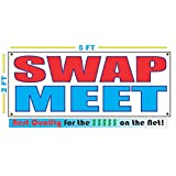 SWAP MEET Banner Sign