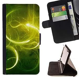 BullDog Case - FOR/Samsung Galaxy Core Prime / - / Nature Beautiful Forrest Green 59 /- Monedero de cuero de la PU Llevar cubierta de la caja con el ID Credit Card Slots Flip funda de cuer