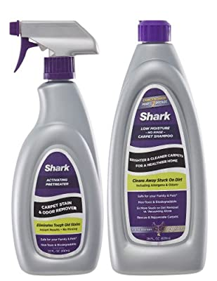Shark Carpet Cleaner Carpet Shampoo Concentrate for use with Sonic Duo CRU500