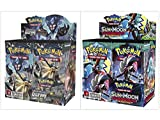 Pokemon Trading Card Game Sun & Moon Ultra Prism Booster Box and Sun & Moon Guardians Rising Booster Box Bundle, 1 of Each