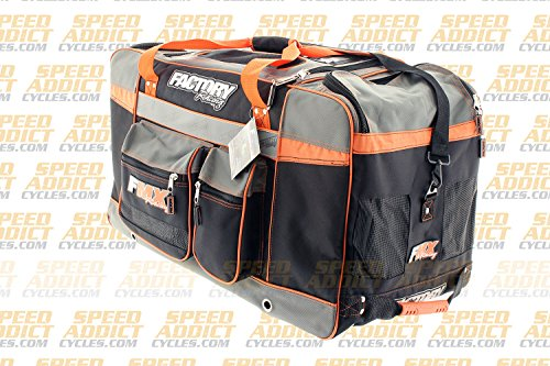 Factory FMX Motorcross Gear Bag XLarge Orange by Factory Racing (Image #3)