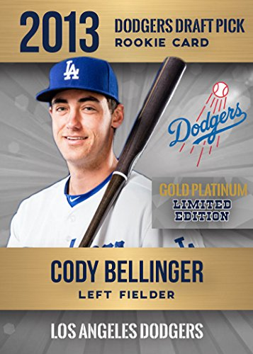 2013 CODY BELLINGER ROOKIE GOLD PLATINUM FIRST DRAFT PICK RC ONLY 2,000 MADE DODGERS