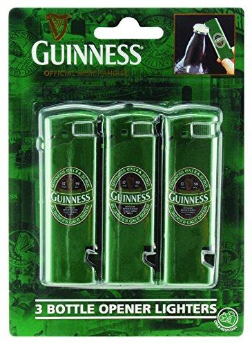 Bottle Opener Lighters (3 Pack) - Guinness Ireland Collection