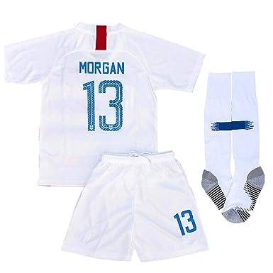 the latest 77d7f 2dd4a Amazon.com: New 2018-2019 Alex Morgan 13 USA National Home ...