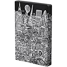 Nuuna Graphic L Luxury Dot Grid Leather Cover Notebook (London)