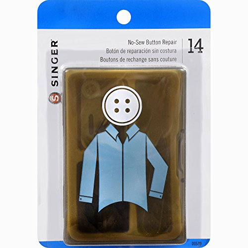 Singer Men's No-Sew Button Repair Kit