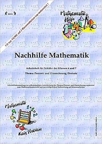 Nachhilfe Mathematik - Prozent- und Zinsrechnung, Dreisatz ...