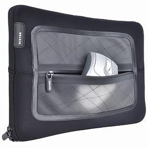 "Belkin F8N246 Vue Vector Sleeve for Netbook - Fits up to 10.2"" Black"