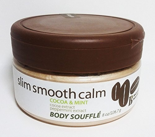 Botanical Bath Slim Smooth Calm Body Souffle Cocoa & Mint, 8 Oz
