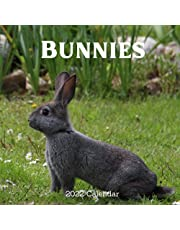 Bunnies 2022 calendar: 18 Months Calendar 2022-2023 For Women, Men, Kids & Bunnies Lovers ,Size 8.5 x 8.5 Inch, Large box for record dates and special events