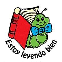 "Center Enterprise CEJ9930 ""SPANISH ESTOY-BOOKWORM"" Jumbo Stamp"
