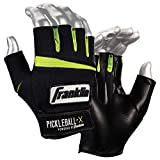 Franklin Sports Pickleball Gloves (Pair) - Men - Adult Medium - Black/Optic