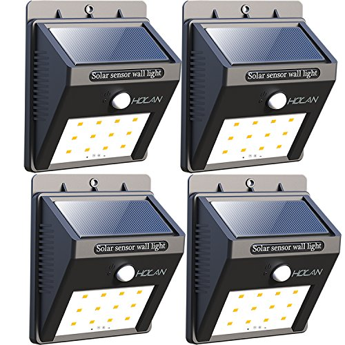 【Super Bright】12 LED Solar Lights, Iextreme Waterproof