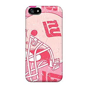 New Premium Mainhotgoods New York Giants Skin Cases Covers Excellent Fitted For Iphone 5/5s Black Friday