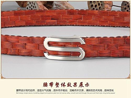 Menschwear Mens & Womens Adjustable Palisander Wooden Belt Handmade 120CM by Menschwear (Image #2)