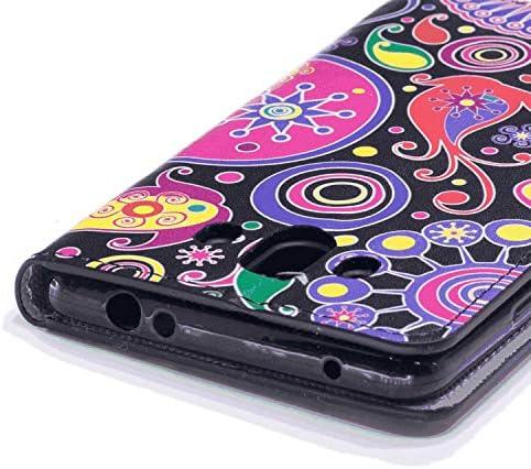 Huawei P7 レザー ケース, 手帳型 Huawei P7 本革 カバー収納 財布 携帯カバー 高級 ビジネス 無料付スマホ防水ポーチIPX8 Fashion