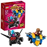 LEGO UK 76090 Marvel Super Heroes Mighty Micros: Star-Lord versus Nebula Popular Superhero Toy for Kids