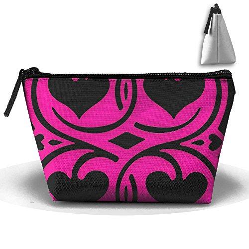 Love-shapes High-capacity Storage Bag Multi-purpose Storage Bag Portable Bag Trapezoidal Storage Bag by Khuighbv