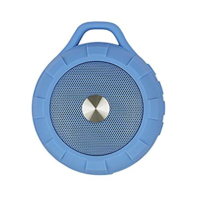 RShop Bluetooth Speaker, Wireless/Portable Bluetooth Speaker, USB Charging/ Data Transmission, Support TF Hcard, 3.5mm Audio Jack, With Hands-Free Function