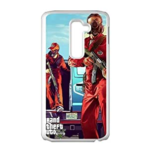 GTA V 5 LG G2 Cell Phone Case White phone component RT_361215