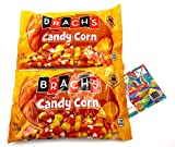 Brachs Classic Candy Corn Bundle.Two (2) Bags of