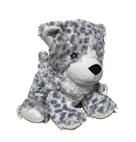 Intelex Cozy Microwaveable Plush Snow Leopard - Lavender (Microwave Warmer)