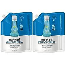 Method Dish Pump Refill - 36 oz - Sea Minerals - 2 pk