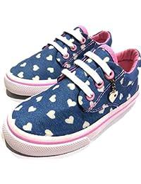 Urban Fit Girl Canvas Ligh Zipper Sneaker (Toddlers/Little Kids/Big Kids)