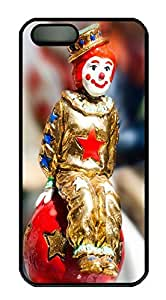 iPhone 5 5S Case The Clown Happy Ending PC Custom iPhone 5 5S Case Cover Black