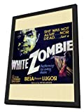White Zombie 30 x 30 Movie Poster - Style A - in Deluxe Wood Frame