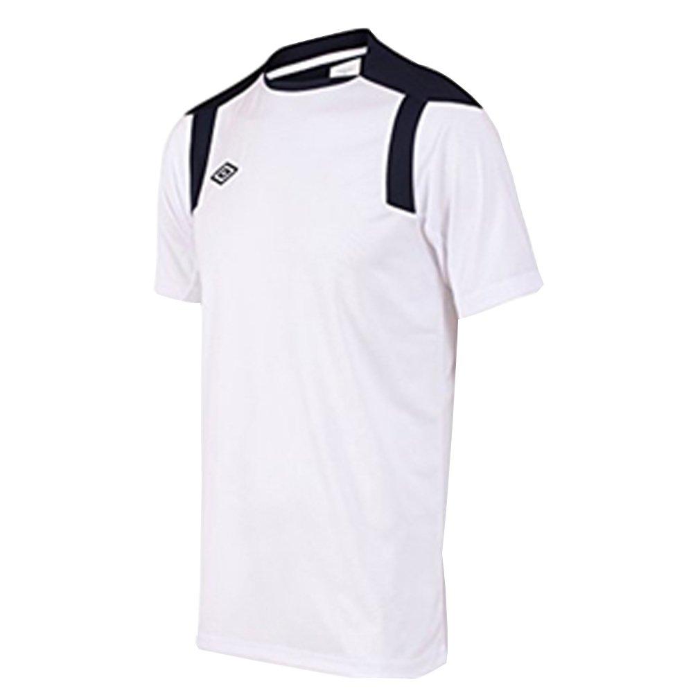 Umbro - Camiseta - para hombre multicolor Blanco / Azul Marino X ...