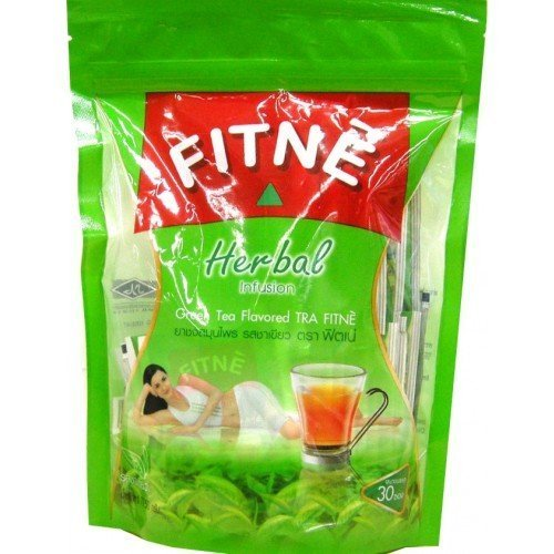 Fitne Herbal Infusion Green Tea Flavored Slimming Weight Loss Control 80g. 30 Sachets Low Price - Potency Green Tea