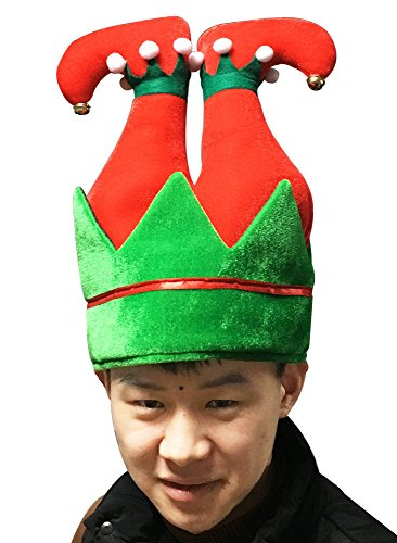 ADJOY Funny Christmas and Holiday Party Pants Hat 3D - Adult