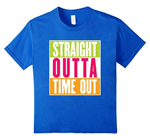 Kids Straight Outta Time Out Fun Colors Kids