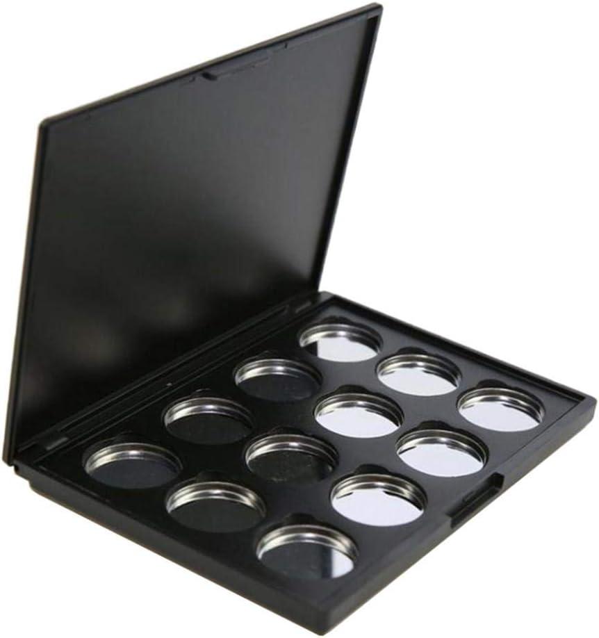 CUTICATE Paleta de Sombra de Ojos Vacía Magnética Plástico Envase de Cosméticos Contenedor de Polvos de Maquillaje, Fundación, BB Crema: Amazon.es: Hogar