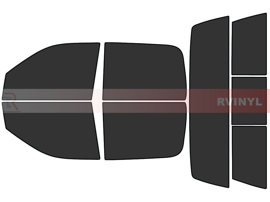 4 Door Rtint Window Tint Kit for Dodge Ram 1500 2500 3500 2009-2018 - Complete Kit 5/%