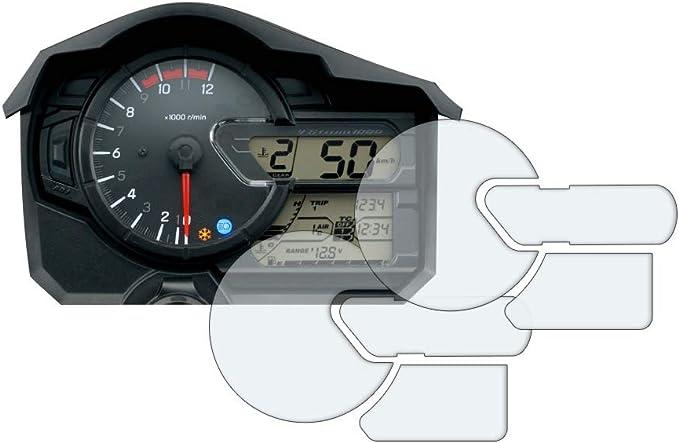 Speedo Angels Displayschutzfolie Tachoschutzfolie Für V Strom 650 1000 2017 1 X Ultra Klar 1 X Entspiegelt Auto