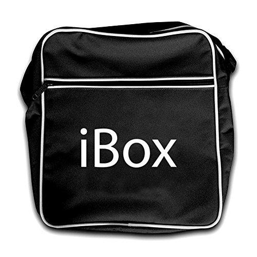 iBox - Retro Flight Bag-Black