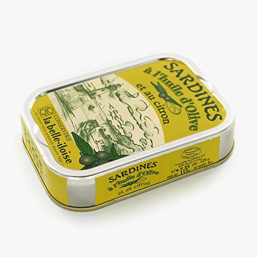 Sardines With Olive Oil And Lemon Hand Prepared From France
